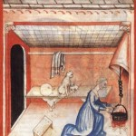 medieval woman cooking 2
