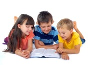 three children reading thenextweb com Photoxpress_5302350